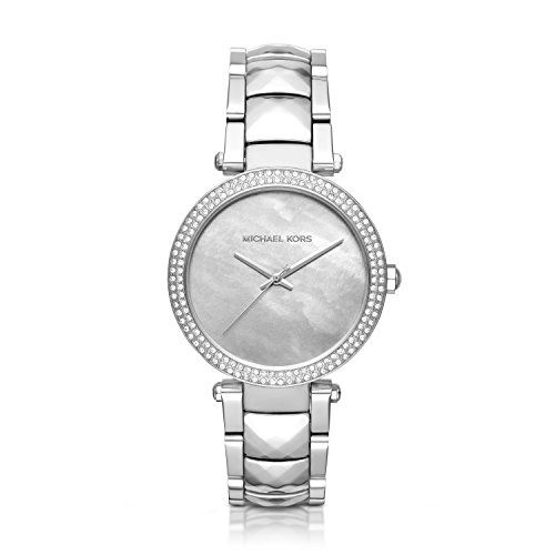 Michael Kors Womens Parker SilverTone Watch MK6424 ** You can get additional det...