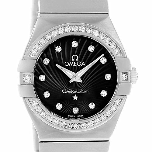 Omega Constellation quartz womens Watch 12315276051001 Certified Preowned *** Vi...