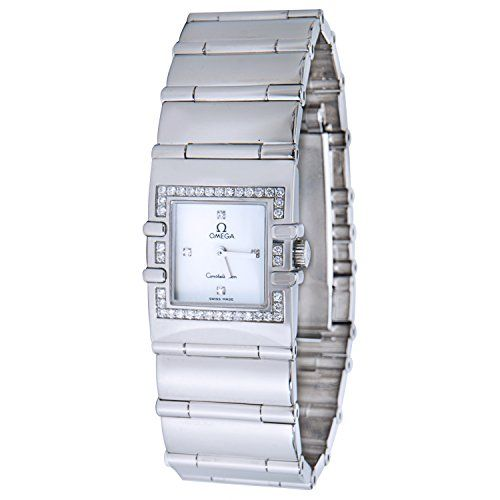 Omega Constellation swissquartz womens Watch 152876 Certified Preowned * Learn m...