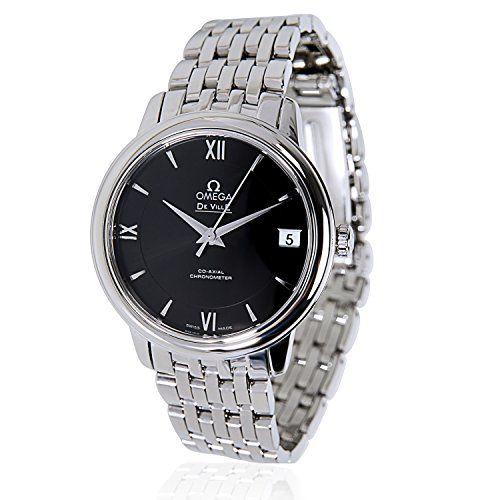 Omega DeVille 424.10.33.20.01.001 Unisex Watch in Stainless Steel (Certified Pre...