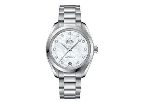 Omega Seamaster Aqua Terra Mother of Pearl Diamond Dial Ladies Watch 22010342055...