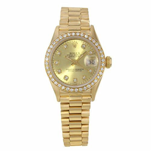 Rolex Datejust automatic-self-wind womens Watch 69178 (Certified Pre-owned) * Ch...