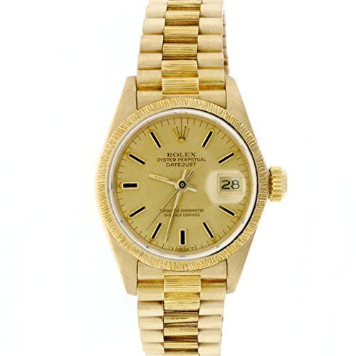 Rolex Datejust automatic-self-wind womens Watch 6927 (Certified Pre-owned) -- Fo...