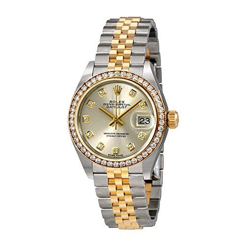 Rolex Lady Datejust Silver Diamond Dial Automatic Watch 279383SDJ -- You can fin...