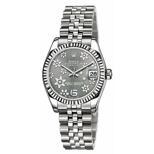 Rolex Women's m178274-0092 Datejust Dark grey Watch -- For more information,...