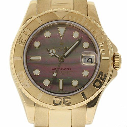 Rolex Yacht-Master swiss-automatic womens Watch 168628 (Certified Pre-owned) ***...
