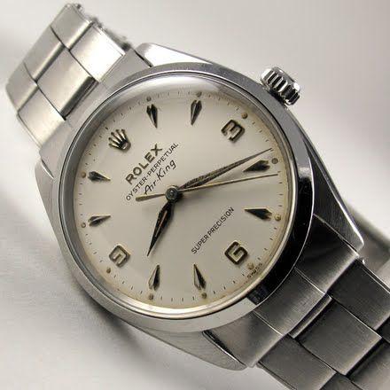 Black Bough - ROLEX vintage wristwatch, Oyster Perpetual 'Air-King' Super Pr...