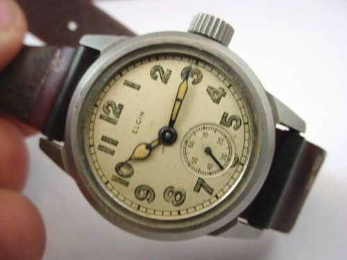 Elgin WWII Military Watch