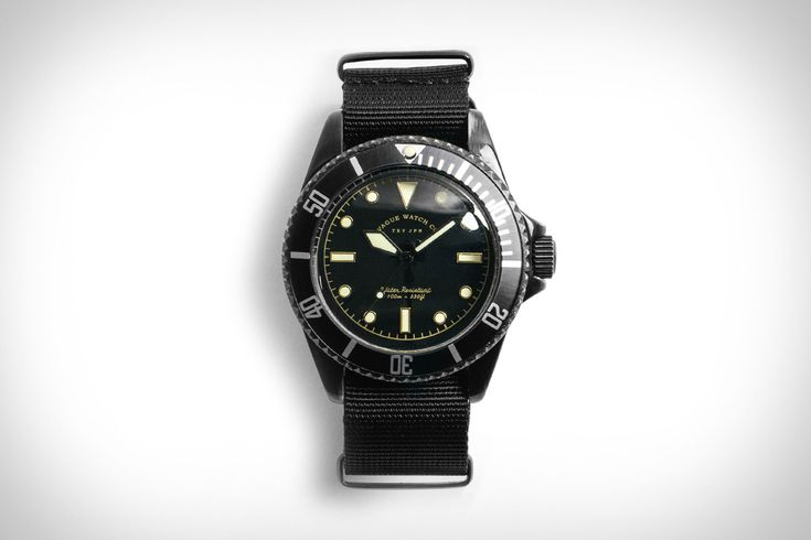 For when you want the look of a $150,000 Rolex Milsub but would rather wear it o...