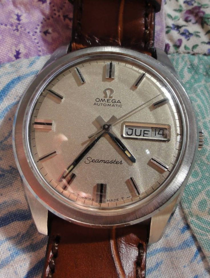 OMEGA Seamaster Day-Date Calibre 752 In Stainless Steel Circa 1969