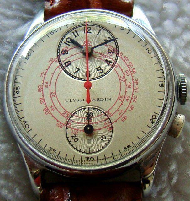 Ulysse Nardin 1 Button Chronograph