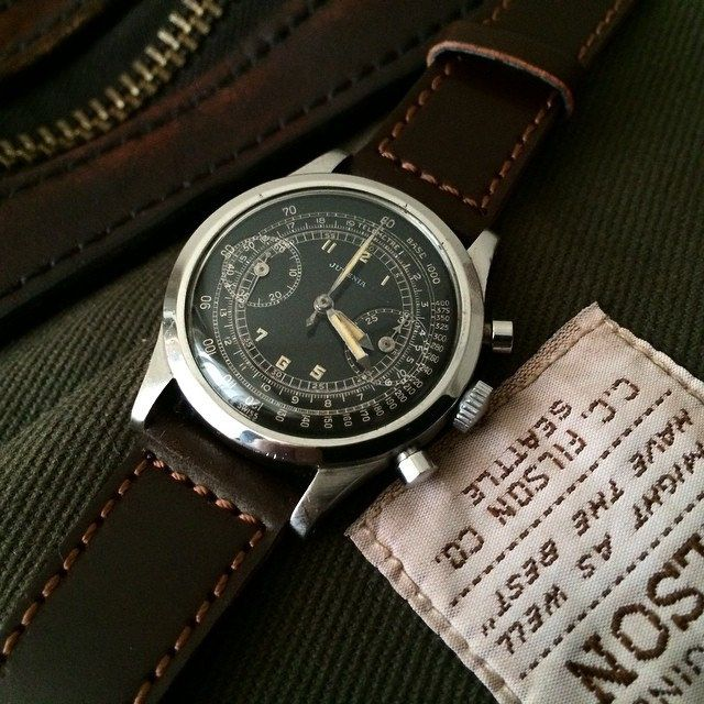 Vintage Juvenia V175 Chronograph