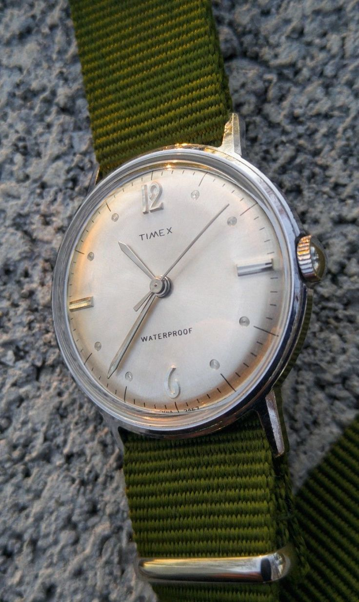 Watches Ideas 1967 timex marlin in magnificent condition. Professionally Service...