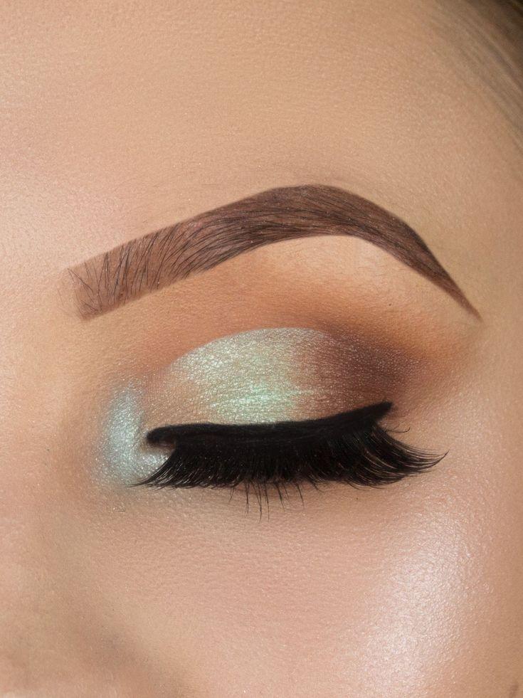 colorful half cut crease makeup look, tutorial, step by step,beginners makeup , ...