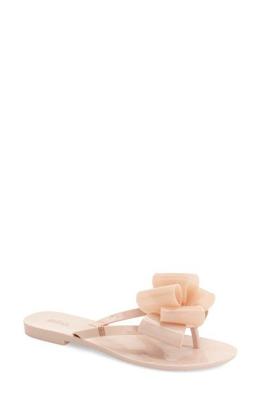 MELISSA 'Harmonic Bow' Jelly Flip Flop (Women). #melissa #shoes #sandals