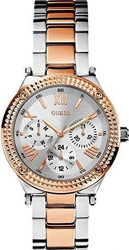 GUESS W0331L3 Ladies MultifunctionSilver DialSteel Bracelet  Case *** Details ca...