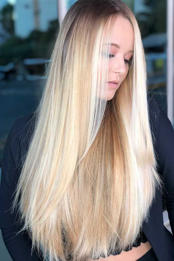 Hair Color 2017 2018 Baby Blonde Highlights Highlights