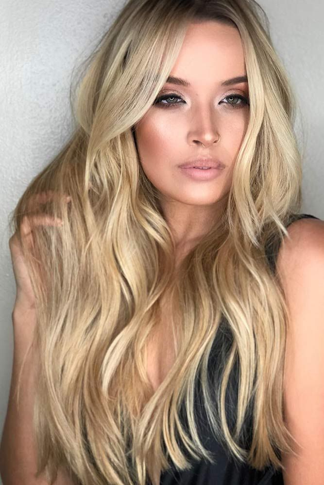 Blonde Hair With Golden Brown Lowlights #lowlights #blondehair ❤️ If you wan...