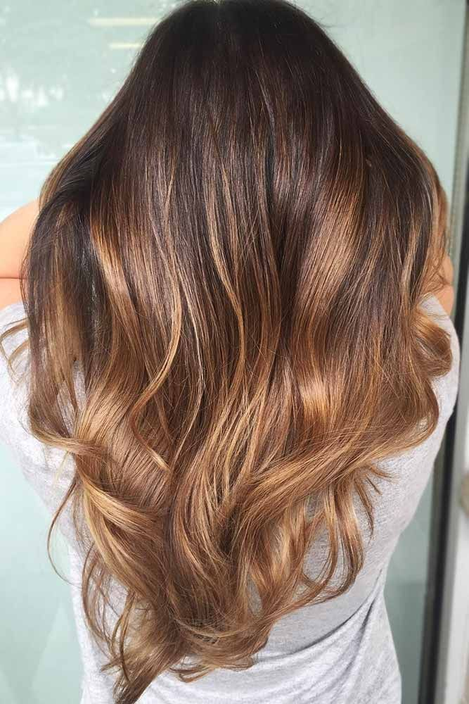 Caramel Ombre Hair #ombre #brownhair ❤️ Want to try ombre hair, but not sure...