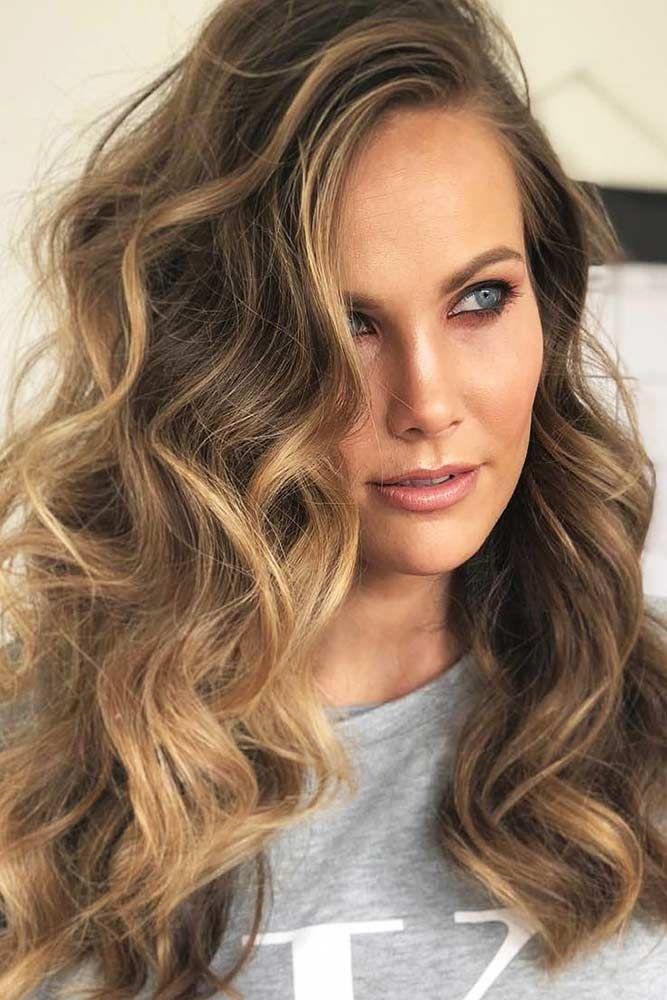 Hair Color 2017 2018 For Diamond Face Highlights Brunette
