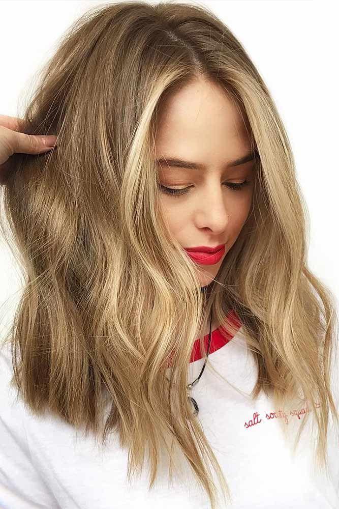 Light Brown Hair With Lowlights #brownhair #blondehair #highlights ❤️ See li...