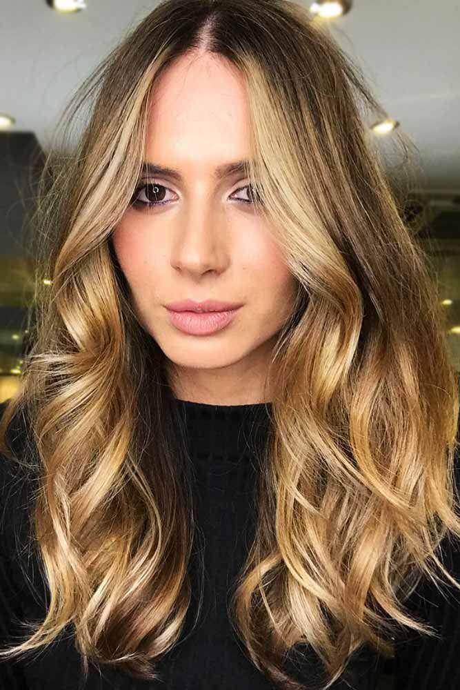 Light Honey Brown Wavy Locks #brownhair #highlights ❤️ See light brown hair ...