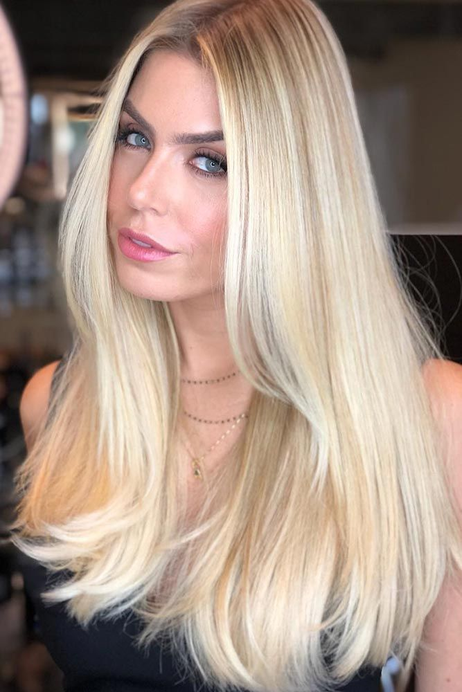 Hair Color 2017 2018 Light Warm Brown Lowlights For Blonde Hair