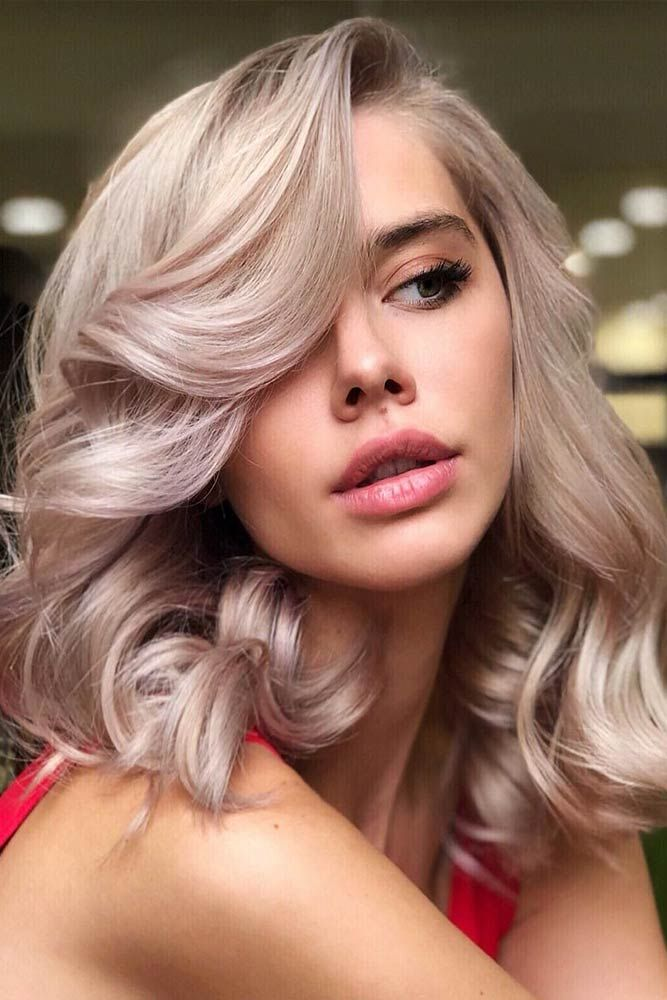 Pastel Pink Lowlights #lowlights #blondehair #pinkhair ❤️ If you want to mak...