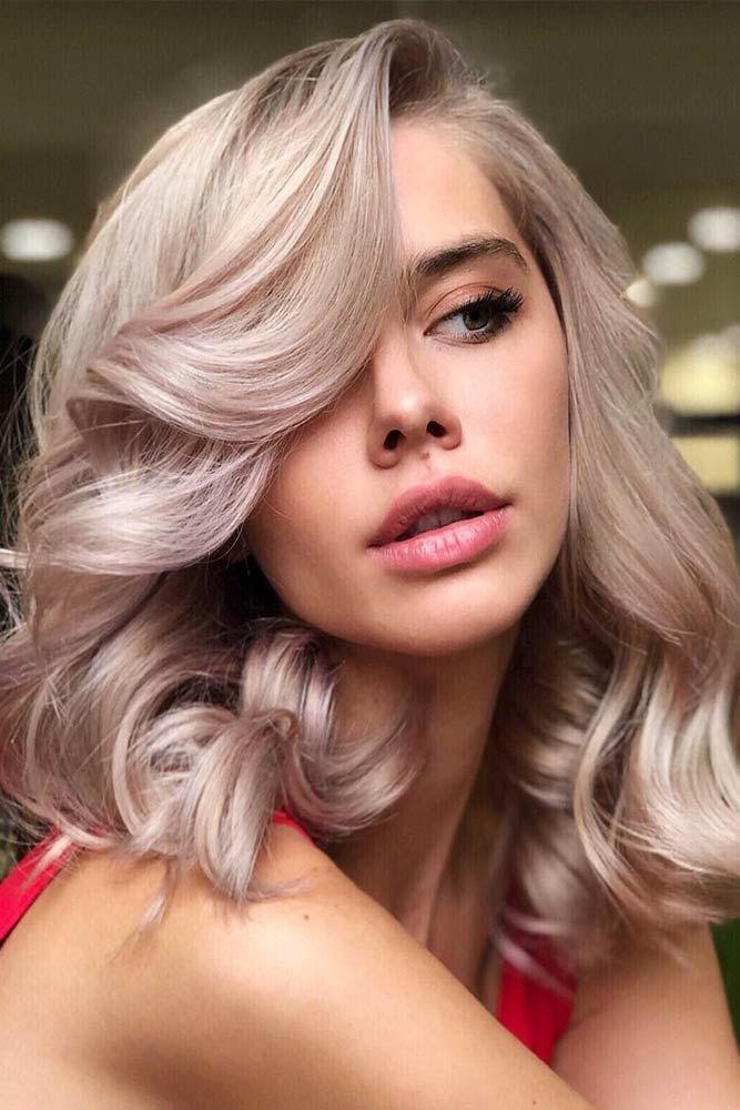Hair Color 2017 2018 Pastel Pink Lowlights Lowlights Blondehair