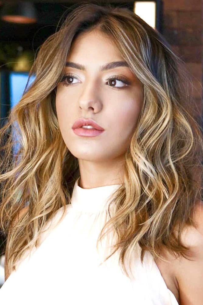 Scattered Bronde Highlights #brownhair #highlights  ❤️ See light brown hair ...
