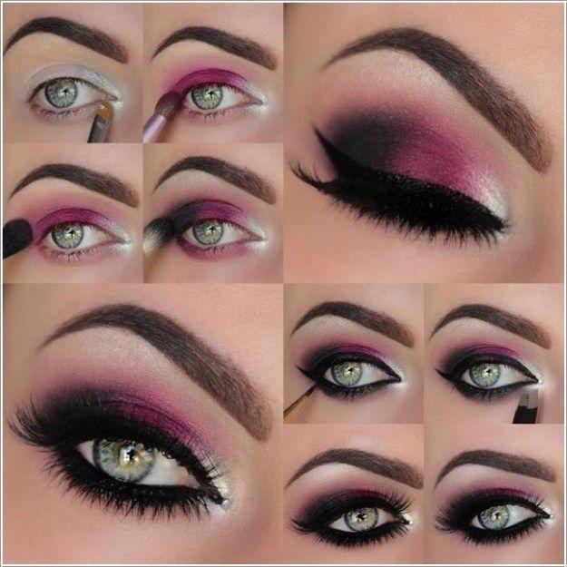 12 Best Makeup Tutorials for Green Eyes | Date Night Eyeshadow by Makeup Tutoria...