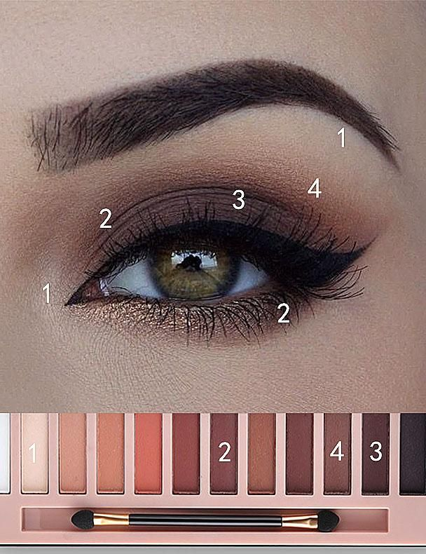 12 COLORS AWESOME SMOKY EYE GLITTER EYE SHADOW PALETTE AA
