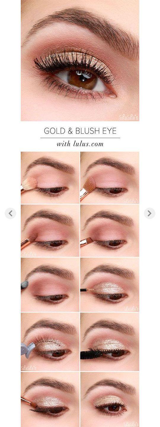 12-Valentines-Tag-Makeup-Tutorials-For-Beginners-2017-6  #beginners #makeuptips ...