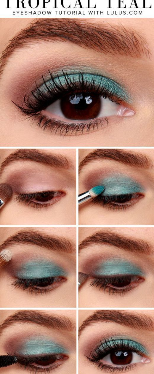 16 Easy Step-by-Step Eyeshadow Tutorials for Beginners: #12. Easy Makeup Tutoria...
