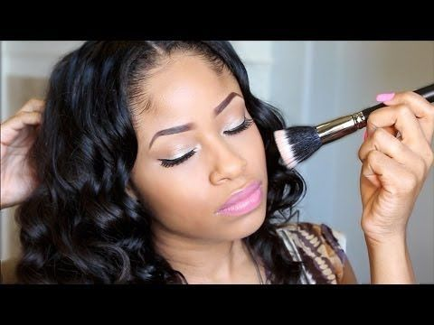 6 Naturals with a FLAWLESS Makeup Game on YouTube | Black Girl with Long Hair