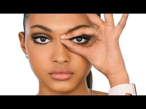 A fresh summertime 60's inspired makeup tutorial, with glowy skin, lashes, lin...