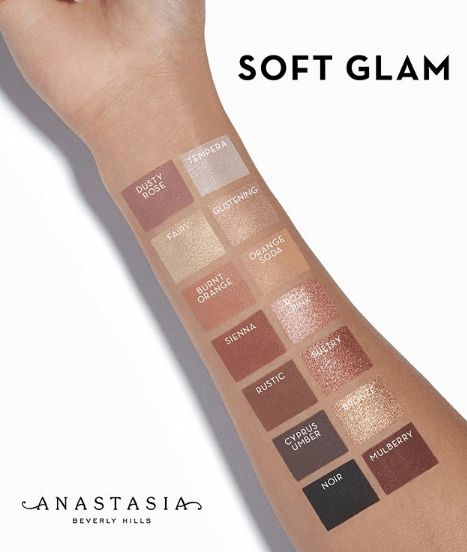 Anastasia Beverly Hills Soft Glam Palette release info and swatches #bbloggers #...