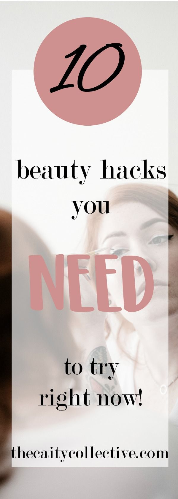 Beauty hacks every girl should know! Beauty hacks for teens to make your makeup ...
