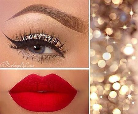 Best Ideas For Makeup Tutorials    Picture    Description  #Make-up 2018 Weihnac...