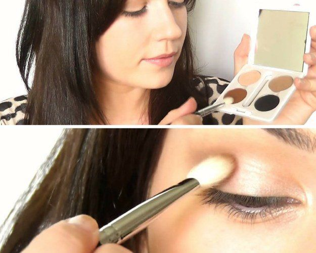 Contour the Eyes | How To Do Eye Makeup For Beginners