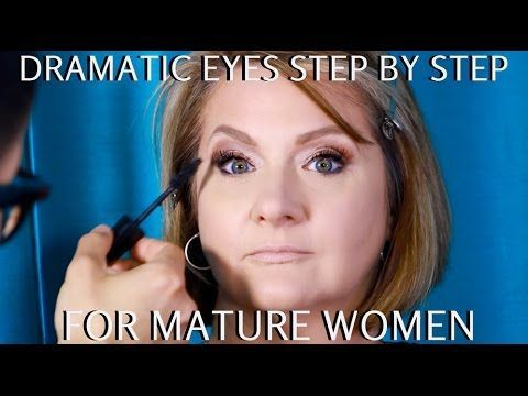 Dramatic Eyes for Mature Women Over 40 Step by Step Makeup Tutorial       SUBSCR...