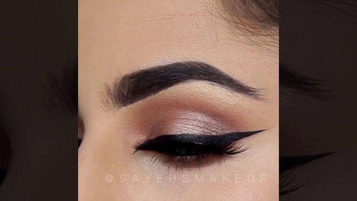 Fall Eye Makeup Tutorial For Beginners   Amazing Eye Makeup Tutorial #2 #Eyemake...