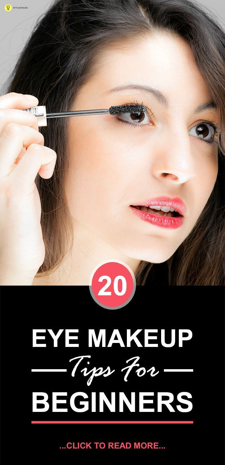 Here are 20 basic eye #makeup tips for #beginners that will turn you into a pro!...
