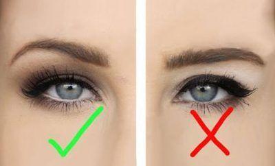 Hooded eyes makeup hacks, tips, tricks for people with hooded eyelids; eyeshadow...