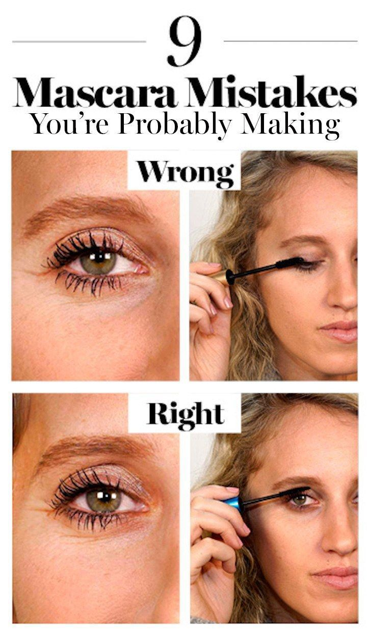 How to Apply Mascara the Right Way | Glamour