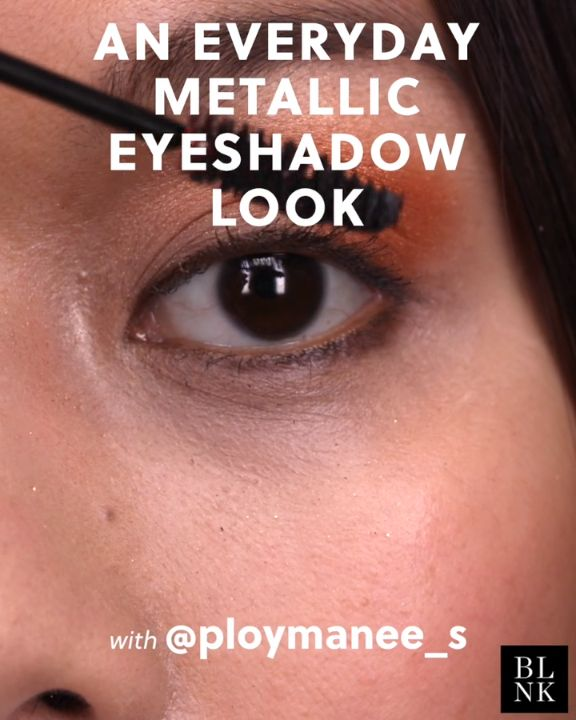 How to Do An Everyday Metallic Eyeshadow Look #blinkbeauty #beautytutorials #mak...