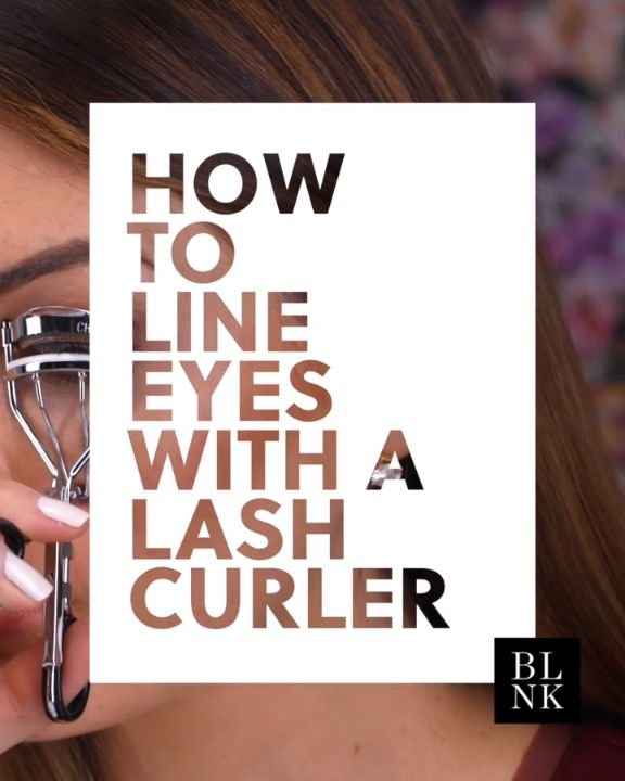 How to Line Eyes with a Lash Curler #blinkbeauty #makeuptutorial #eyeliner #beau...