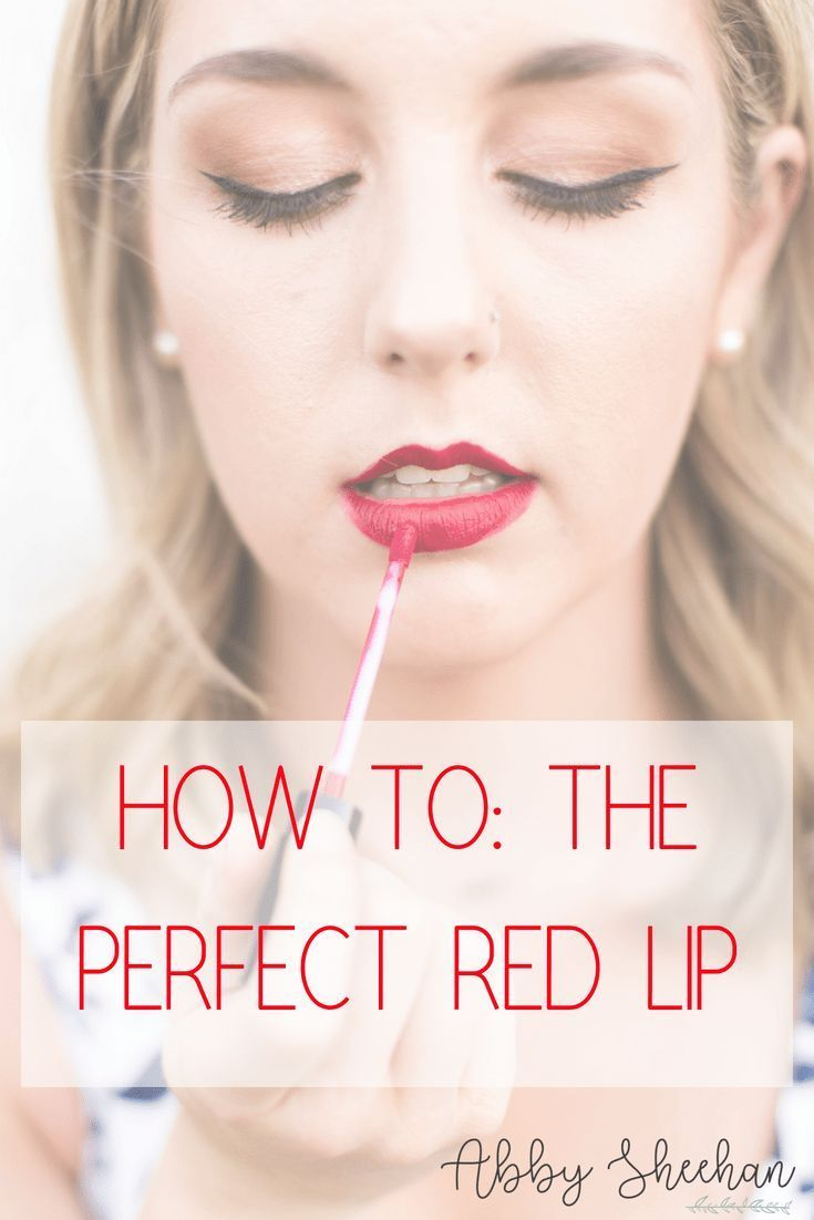 How to achieve the flawless and classic red lip...every time! Red Lips | Lipstic...