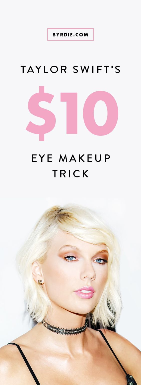 How to do your eye makeup like Taylor Swift