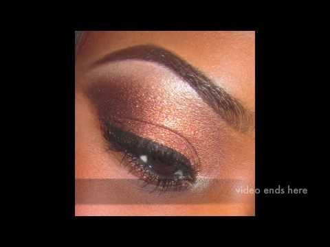 How to makeup tutorial for black women beginners wit easy steps - YouTube #Begin...